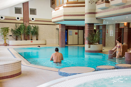 cascades spa treatments pool