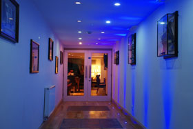 The Dolly Blue Entrance