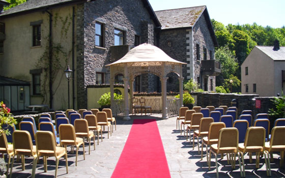 The perfect setting for your wedding in the Lake District